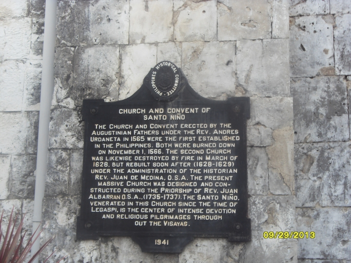 Sto. Nino Church Signage