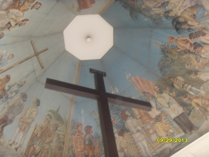 The famous Magellan's Cross