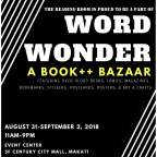 Attention: Bookworms wanted! Come and Visit WORD WONDER 📚 BOOK++ BAZAAR