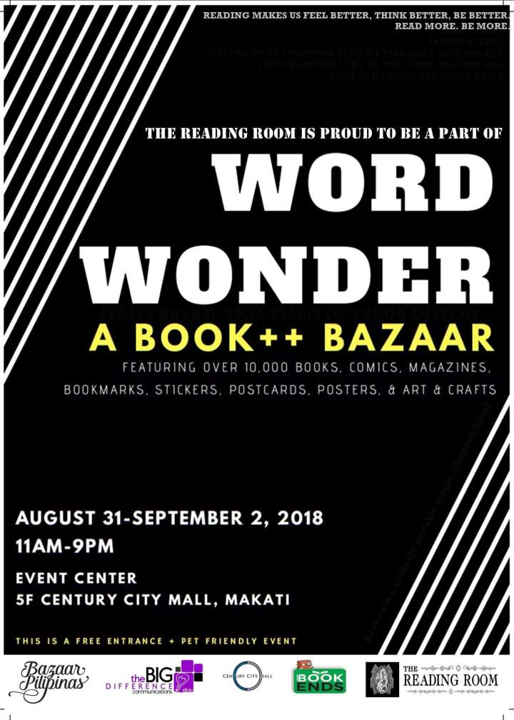 Attention: Bookworms wanted! Come and Visit WORD WONDER 📚 BOOK++BAZAAR