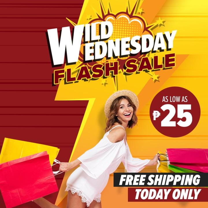 Wednesday FLASH SALES!!!