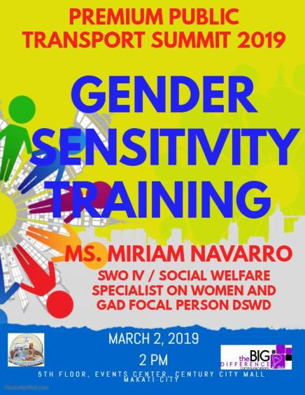 GENDER SENSITIVITY TRAINING