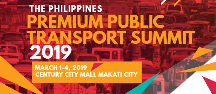 A preview to The Philippine Premium Public Transport Summit 2019