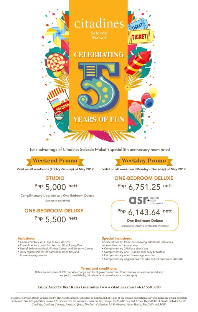 CSM Turns 5 Promo eDM