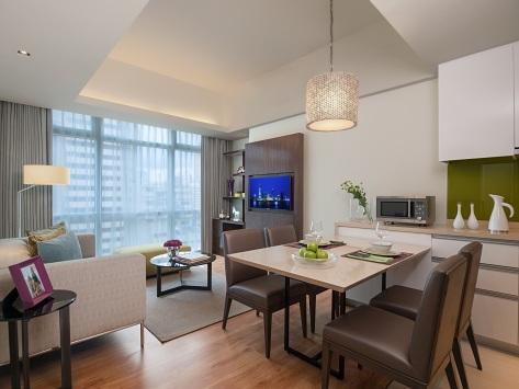 SR_Philippines_Manila_Cit Salcedo_1BR Dlx_Living Dining Room-HR