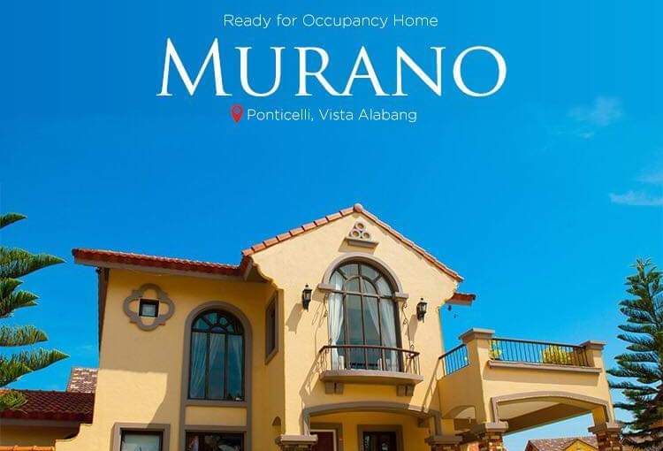 Crown Asia's Premium – Murano House Model – Ready forOccupancy
