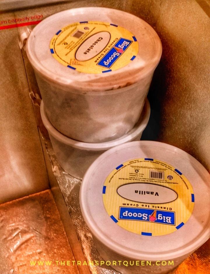 Choco and Vanilla Ice cream