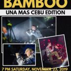 BAMBOO – The Prince of Rock goes to Cebu in his Bamboo:Una Mas Cebu Edition 2019 – The Transport Queen