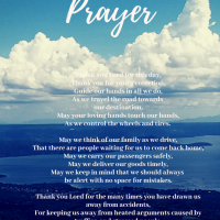 A Driver's Prayer - The Transport Queen