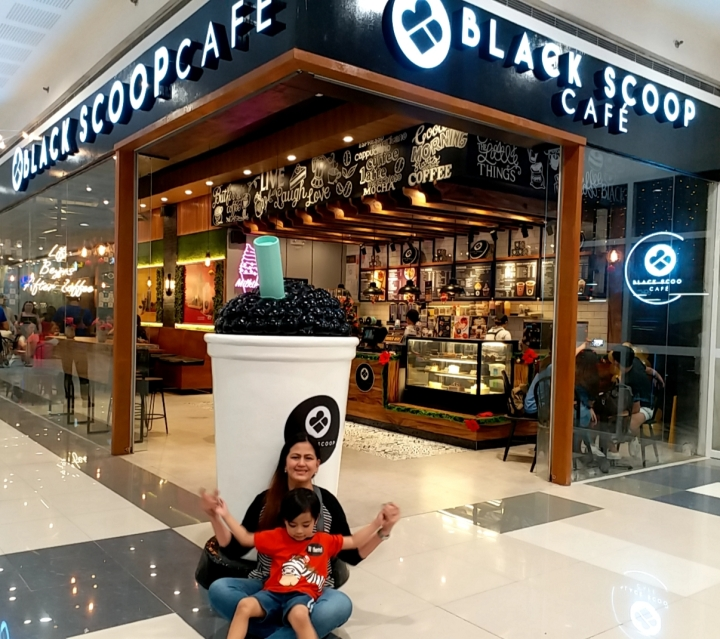 Black Scoop Cafe your new addiction opens at SM City Dasmariñas, Cavite – The Transport Queen