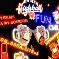 JIM BEAM HIGHBALL PopUp Bar - Did you missed it? - The Transport Queen