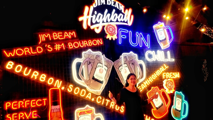 JIM BEAM HIGHBALL PopUp Bar – Did you missed it? – The Transport Queen