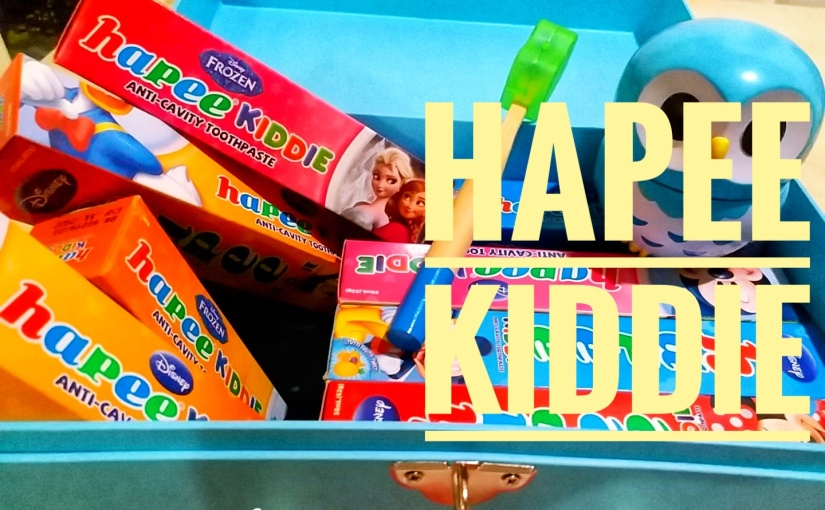 HAPEE Kiddie! Make Brush Time Happy Time!