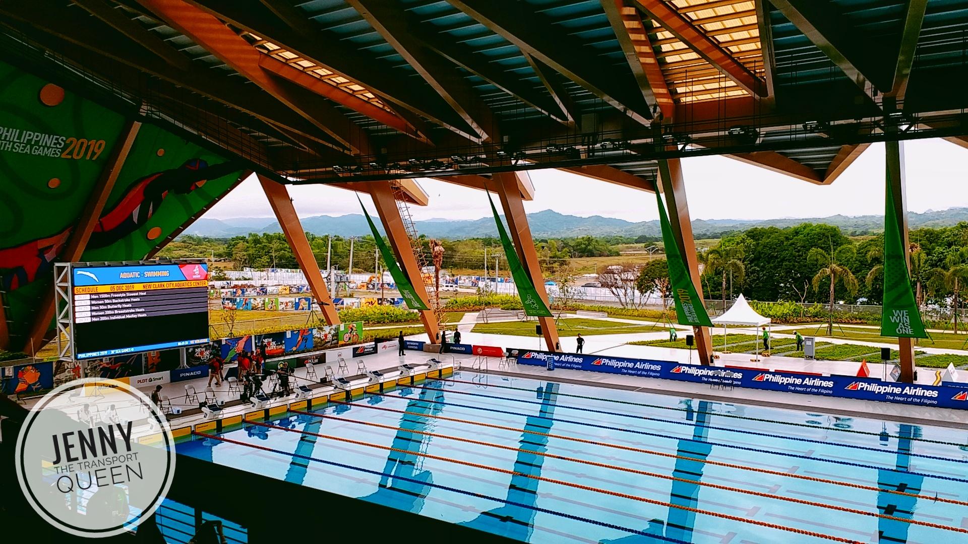Aquatic Center, New Clark City