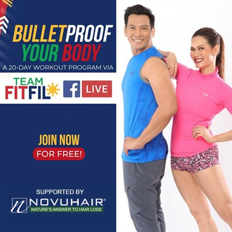NOVUHAIR® BOOSTS OPTIMISM VIA FREE WORKOUT