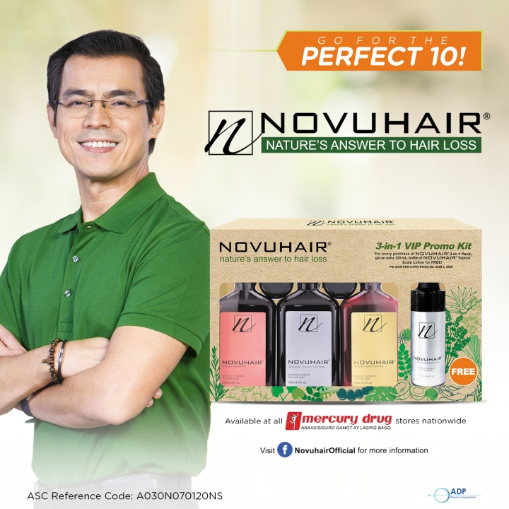 ADP Pharma Launches                                                  NOVUHAIR® 3-in-1 VIP PROMO KIT