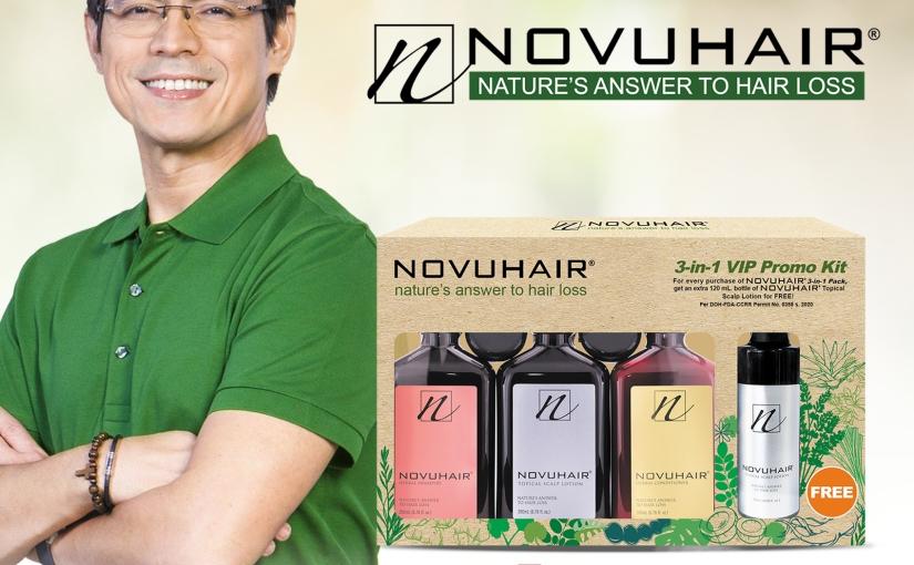 ADP Pharma Launches                                                  NOVUHAIR® 3-in-1 VIP PROMOKIT