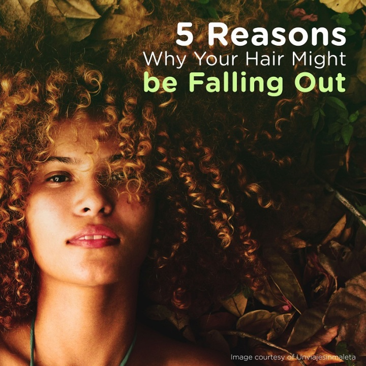 5 Reasons Why Your Hair Might be FallingOut